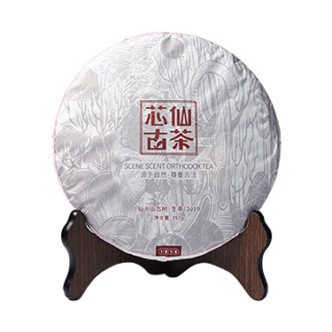 芯仙茗堂  2019年普洱茶 生普 古味 357g