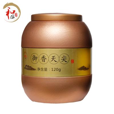 和源御品 2014年御香天尖金罐装5年陈特级高香茶120g