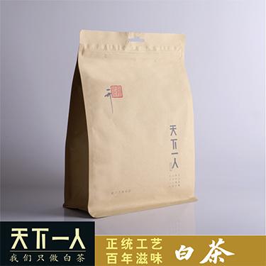 天下一人白茶 2019年一级荒野贡眉 150g/袋