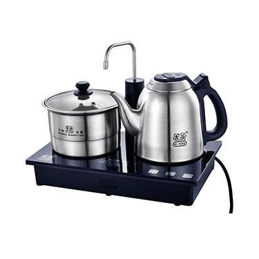 吉谷TC0102恒温电水壶 304不锈钢电热煮茶器自动上水三合一