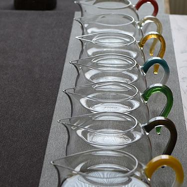 禾器 淡然茶海系列 玻璃公道杯 匀杯功夫茶具手工制作