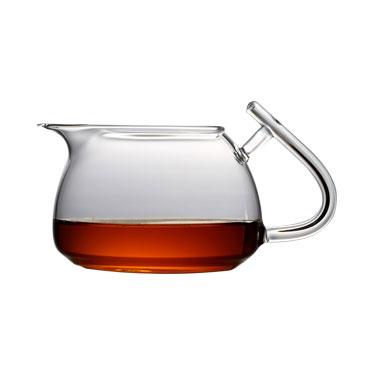吉谷TY01公道杯 高硼硅耐热玻璃杯泡茶器公杯分茶器