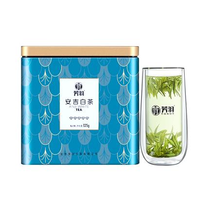 芳羽  2020年新茶 安吉白茶明前特级125g罐装正宗高山珍稀绿茶
