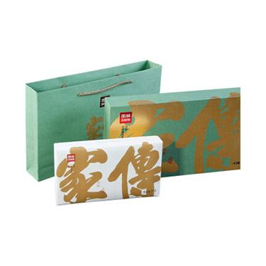 雨林 2018年传家礼盒装 古树普洱茶生茶 茶砖1000g