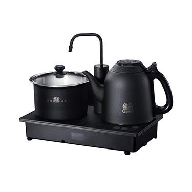 吉谷TC0302恒温电水壶 304不锈钢自动上水三合一电热煮茶壶