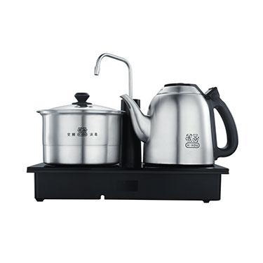 吉谷TC0202电热水壶 304不锈钢茶壶 TC0102自动上水三合一烧水壶