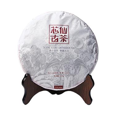 芯仙茗堂 2019春茶 生茶古韵饼茶357g