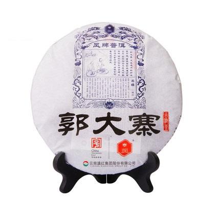 凤牌 2019年普洱茶 云南郭大寨普洱生茶饼357g