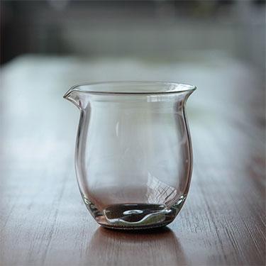 禾器 温然茶海系列 玻璃公道杯 匀杯功夫茶具手工制作