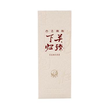 下关 2018年沱茶归臻白茶龙珠 96g