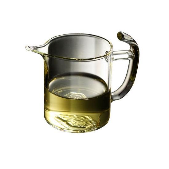 吉谷TY07公道杯 高硼硅耐热玻璃杯泡茶器公杯分茶器180ML