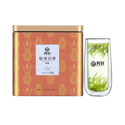 芳羽 2020年新茶 安吉白茶 明前精品珍稀绿茶正宗春茶叶125g