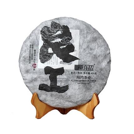 老同志普洱茶   2017年良工熟饼 400g/饼