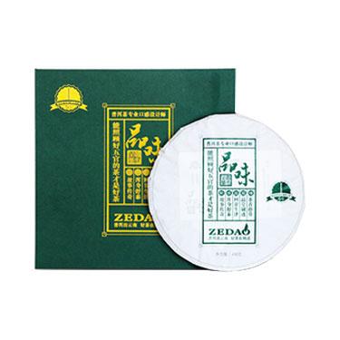 则道  2018年品味普洱茶生茶饼茶 云南六大茶山古树普洱茶400g