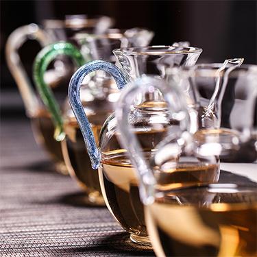 禾器 芳然茶海系列 玻璃公道杯 匀杯功夫茶具手工制作