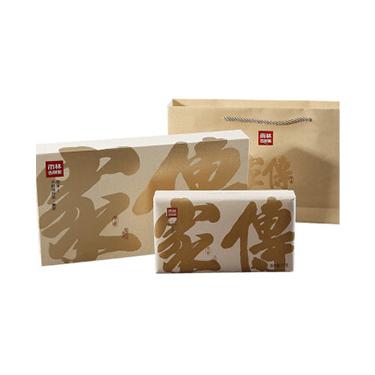 雨林 2018年传家礼盒装 古树普洱茶熟茶 茶砖1000g