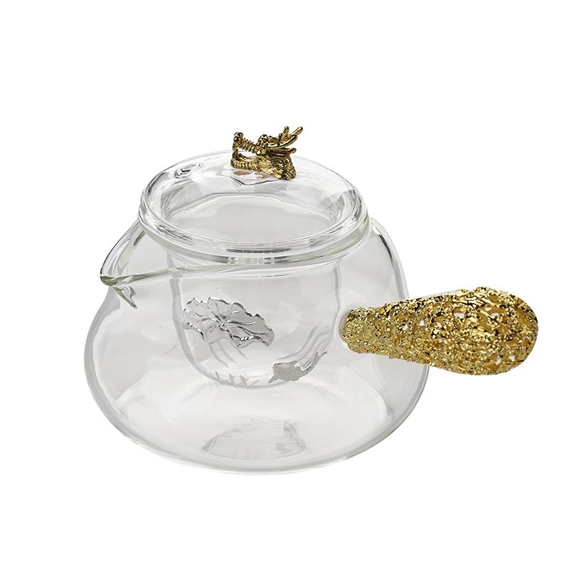 元宝煮茶壶