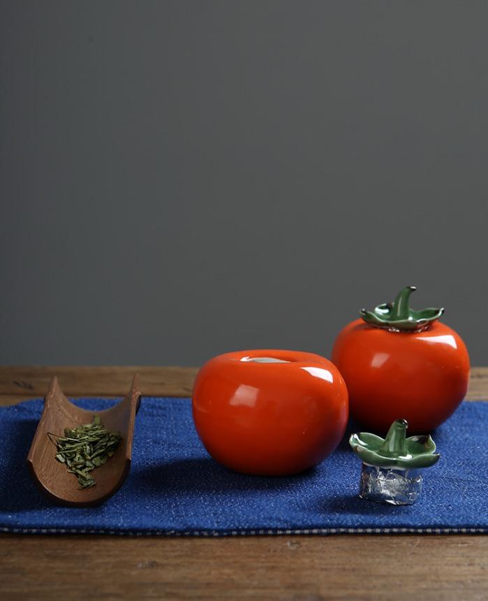 柿子茶叶罐