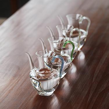 禾器 悄然茶海系列 玻璃公道杯 匀杯功夫茶具手工制作