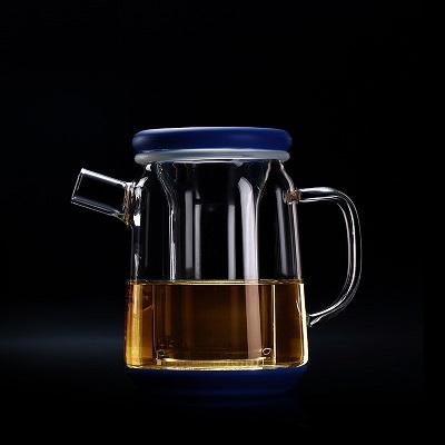 吉谷TY03 TY05泡茶杯飘逸杯高硼硅玻璃茶壶可拆洗内胆食品级