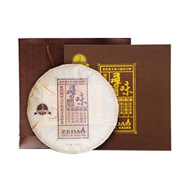 则道 2018年寻味系列勐海古树普洱茶 云南普洱熟茶饼400g