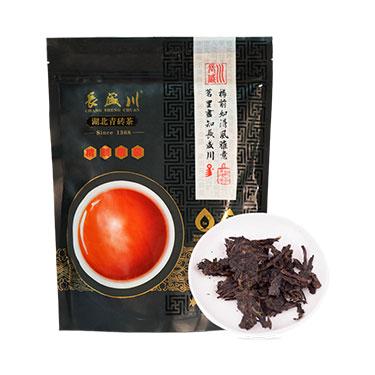 长盛川 2019年青砖茶 黑茶 精制散茶460g袋装
