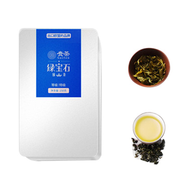 预售 贵茶 2021年新茶 绿茶特级250g 绿宝石散装茶叶袋装高山 绿茶