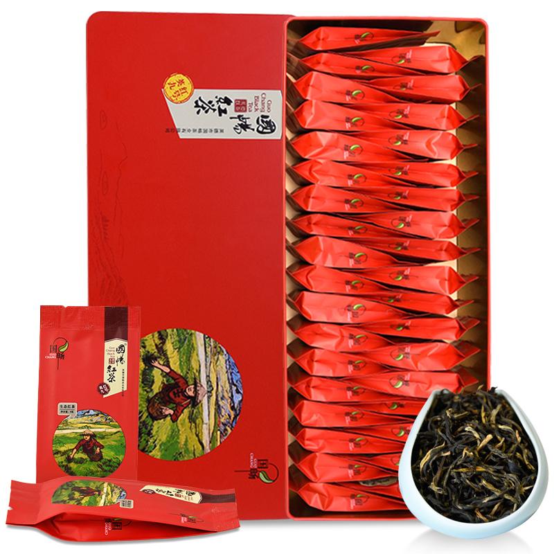 国畅 英红九号生态红茶礼盒英德红茶210g