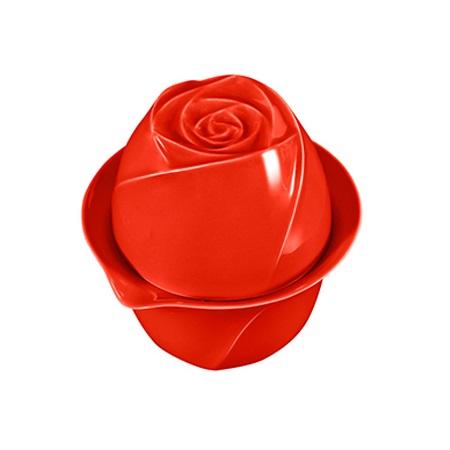 致造 瑰蜜玫瑰花茶杯  陶瓷快客杯  一壶一杯