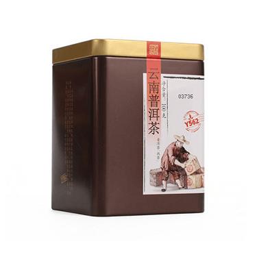 中茶牌 2016年云南普洱茶 Y562罐装普洱熟茶 罐装散茶100g