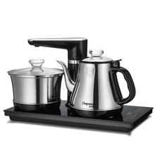 安博尔全自动上水电热水壶智能电茶炉家用烧水壶套装抽水茶壶茶具
