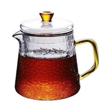 耐热过滤功夫花茶壶煮茶冲茶器茶具套装家用耐高温玻璃泡茶壶