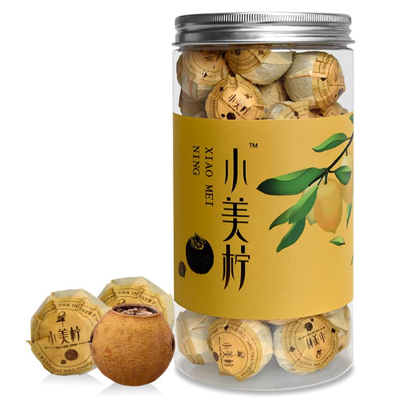 国畅 柠檬红茶 英红九号+柠檬 小美柠250g 罐装