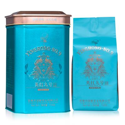 国畅 2019年英德红茶 英红九号 斯维特老树金毛毫 礼罐 150g(蓝)
