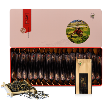 国畅 2019年英德红茶英红九号榜眼礼盒一级红茶210g新款广东特产