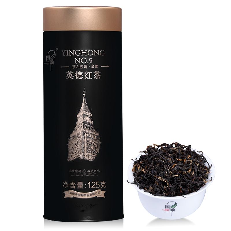 国畅 2019年英德红茶 茶之腔调 金萱 高香红茶 礼罐装125g