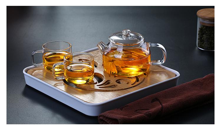鑫鳯祥茶壶耐热玻璃泡花茶茶具冲茶器过滤泡茶壶套组