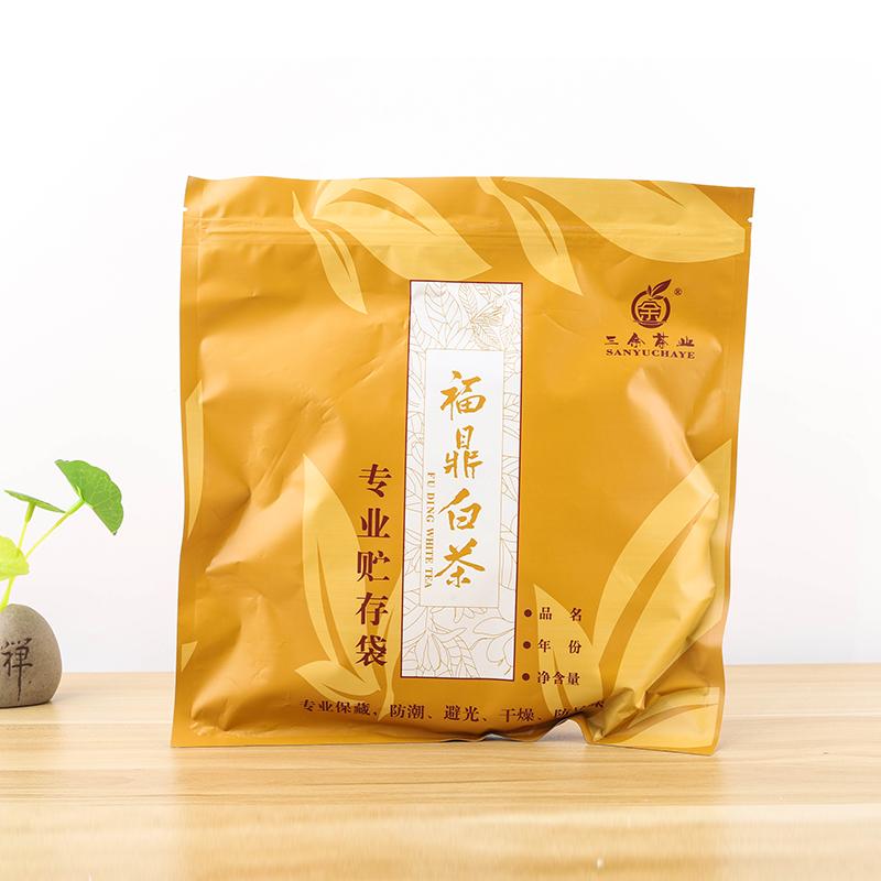 三余茶业 2017年福鼎源产地白茶白琳柴头山白牡丹饼350g