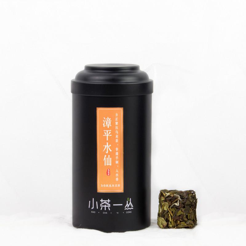 小茶一丛 2019年漳平水仙茶叶茶饼兰花香乌龙正宗龙岩原产地高山新茶100g