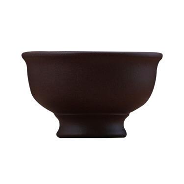 拈砂成器 紫砂小茶杯