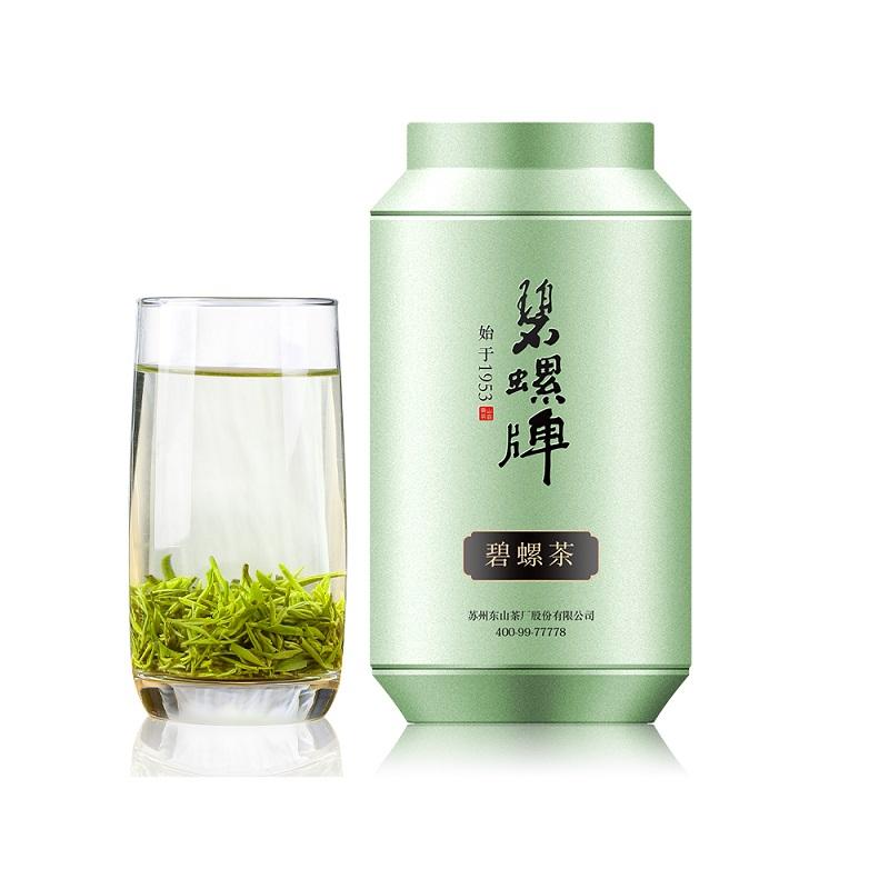 碧螺牌 2019年绿茶新茶雨前一级碧螺茶100g罐装