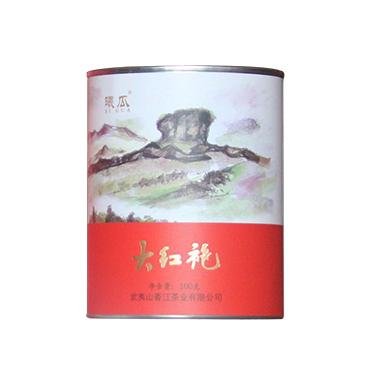 曦瓜 2019年武夷岩茶 茶画大红袍100g  罐装