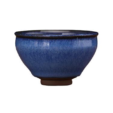 潭古道 建盏   回蓝品茗杯