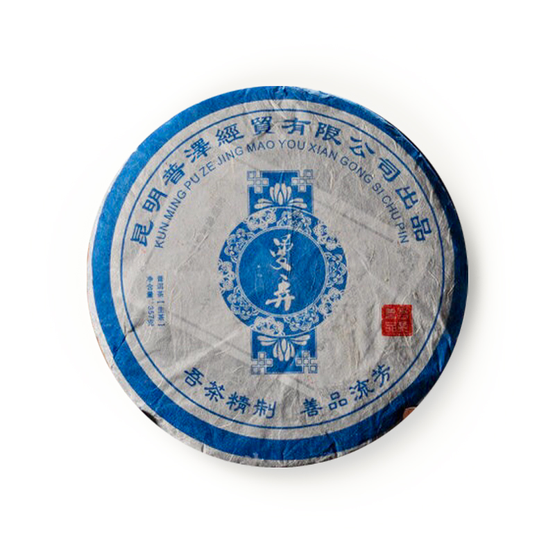 2011年  曼弄古树茶 古树纯料生茶 357克