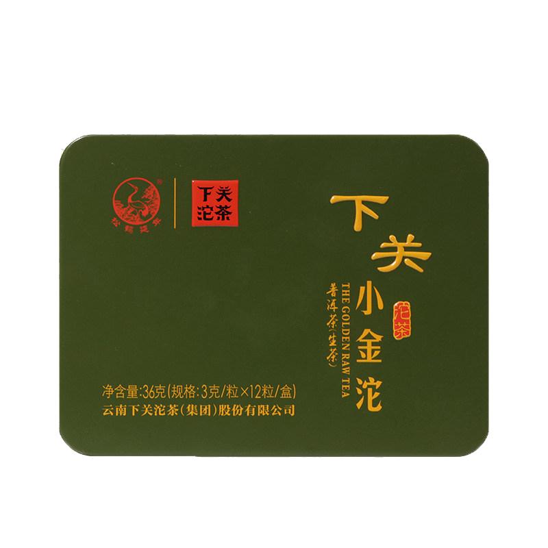 【下关】下关小金沱生茶2016年云南普洱茶叶36g/盒*5盒