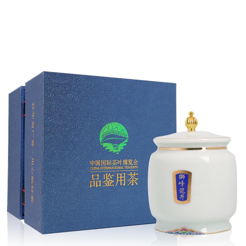 2020年新茶西湖龙井茶明前茶叶150g雨前新茶绿茶礼盒包装散装