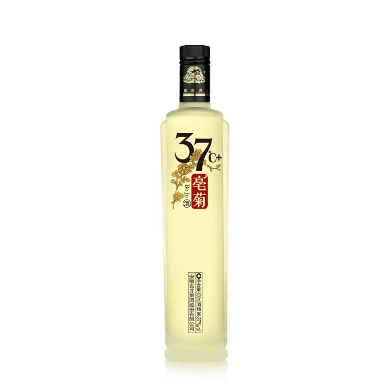 【古井贡酒】37度+亳菊白酒500ml*1瓶 精美瓶装酒 亲友聚会首选
