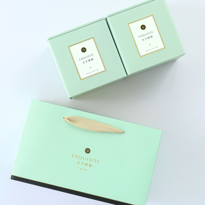 太平猴魁核心产区特级绿茶礼盒装雨前安徽太平纯手工工艺100g/250g礼盒可选
