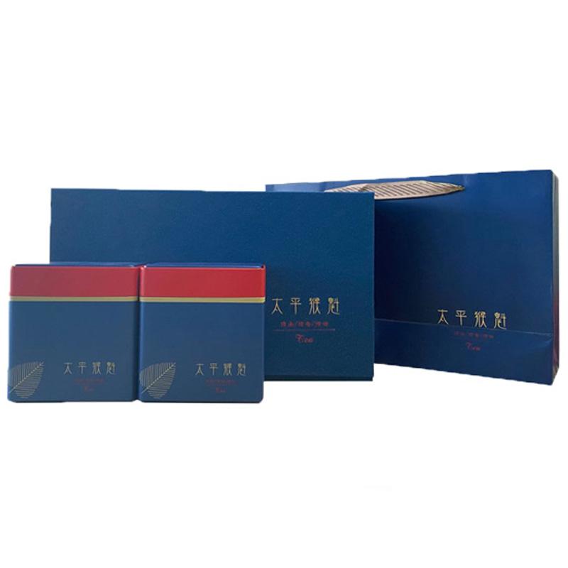 太平猴魁特级翻盖式礼盒装雨前绿茶安徽太平纯手工工艺250g
