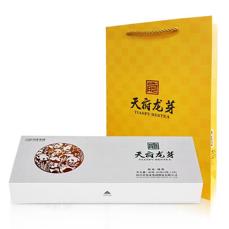 天府龙芽 2020早春龙芽绿茶(御龙)礼盒装 60g
